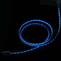 LED flowing data cable for iphone4s usb charging cable  LED light cable for iphone4 4s