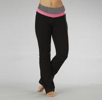 Elastic slim Women quick dry yoga pants fitness sports trousers 0.36 4721