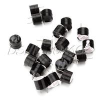 Black 3V Electromagnetic Type Piezo Buzzer Continuous Sound Pack of 20