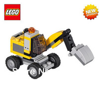 NEW Original Educational Brand Lego Blocks Toys 31014 Creator Series 3-in-1 Power Digger 64PCS For Childern Gift Free Shipping