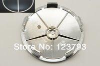 Free shipping 100pcs Black/Black 68mm Wheel Center Hub Caps emblem for car wheel rim