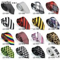 Free shipping hot sales silk neck tie for men / women, fashion New 2014 Skinny Tie for men 5cm Plaid Polka Dot Stripes Necktie
