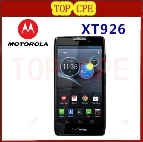 "Original Motorola XT926 Mobile Phone 4.7"" Screen Android 4.0 Dual core ROM 16GB Camera 8.0MP Bluetooth NFC Wifi GPS Refurbished(China (Mainland))"