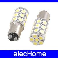 1157 BAY15D 27 leds SMD 5050 Car LED Bulb Signal Brake Stop Light Lamp Bulbs DC 12V Yellow Red White Bule Ligting Free Shipping
