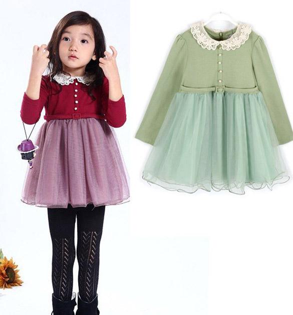Lace dress size 7 kid