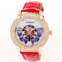 Reloj Watch Woman 2014 New Brands Rhinestone Bracelet Dress Watches Numbers Famous Free Shipping