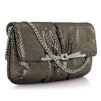 2014 New Fashion Style Genuine Leather Sheepskin Clutch Bag For Women Evening Bag Chain Shoulder Bags Handbag Party Bag Purse