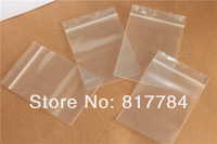 ZipLock Bags clear Ziplock plastic bags with white line in size 6x9cm  resealable Zipper for retail  Free Shipping