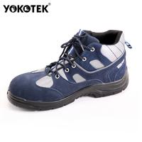 Free shipping Yokotek footware cut spring and autumn safety shoes steel head medium