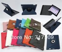 100pcs High quality 360 Degree Rotating case for IPAD MINI and 100pcs 360 degree rotating case for IPAD 2 3 4 free shipping