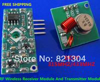10set/lot RF Wireless Radio Receiver Module Transmitter Module Remote Board For Arduino Super Regeneration 315MHZ 433MHZ