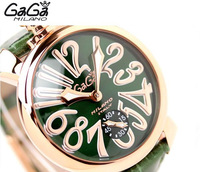 Gaga milano gaga watch needle the trend of fashion manual chain mechanical watch unisex table