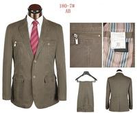2013 new brands suits for men two button denim men clothing set wedding tuxedo suits for men size S-4XL