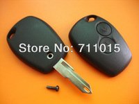 2 button remote key blank no logo for Renault free shipping