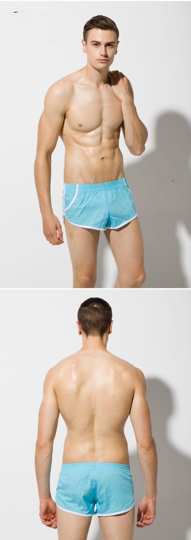 Сексуальный гей мужчины в розовый / желтый / синий хлопок свободного покроя
