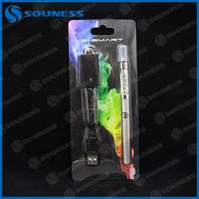 320mah electronic cigarette e smart starter kit and high quality replaceable atomizer no big burning taste (2*E-Smart)
