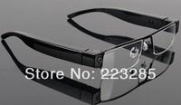 The Cheapest Mini DV DVR Sun glasses Camera Audio Video Recorder, Mini Camcorders with SD Card Free shipping 100% Brand New