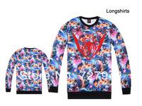 2014 new arrival Spider man GALAXY Sweatshirts hip hop new style cheap men & women sweaters 2 styles sportswears Free Shipping