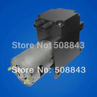 17L/M dc 12V electric mini  brush diaphragm  small size vacuum pump