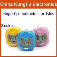 color display pediatric oximeter Fingertip Finger Pulse Oximeter Blood Oxygen SpO2 Monitor for Kids Child