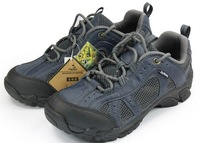 1620 Promotion! Breathable Genuine Leather Mesh Men's Hiking shoes 2 colors Size38.5-43