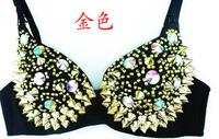 On sale Ladygaga female singer costumes ds costume modern rivet bra