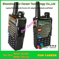 UV-5RE Plus 2014 New version Baofeng Dual band Two way radio VHF +UHF 5W 128CH FM 65-108MHz free shipping walkie talkie