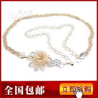 New arrival belly chain women's rhinestone metal belly chain belt diamond belly chain fashion all-match strap