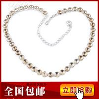 2013 women's metal belly chain circle diamond decoration women's belly chain thin belt strap