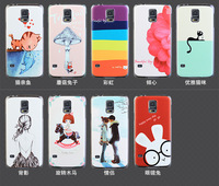 Brand New Hard Back Print Shell Cartoon Cover Cases For Samsung Galaxy S5 Cases Accesoriess