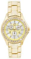 Free Shipping New Golden Watches Women dress Rhinestone Analog wristwatches men Casual watch 2014 Ladies Unisex Quartz watches