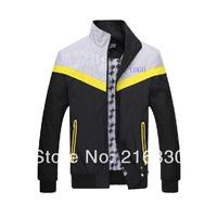 2014 new arrival men's spring and autumn wear sportswear fashion men's down coat outerdoor wear leisure jackets plus size