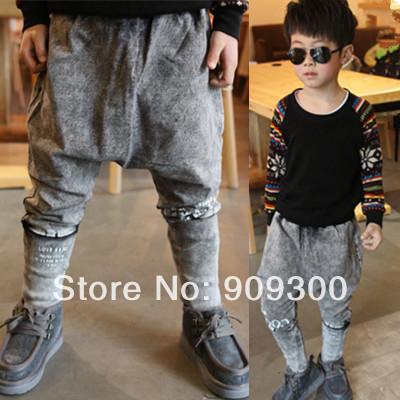 2014 Cattle cattle shop male children's child clothing 2014 spring harem pants harem pants(China (Mainland))
