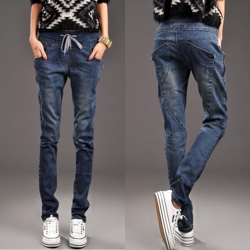 Beautiful  Buy 2014 Fall Design Women39s Jeans Women Korean Models Jeans Women