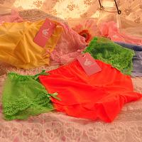 Women's lace seamless sexy temptation viscose comfortable mid waist female briefs