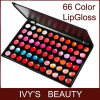 66 Color Makeup Lip Gloss Palette Kit Lipstick Lips Set