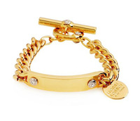 wholesale fashion 18k gold plated chain bracelet, hot sales high quality unique design European American brand bangle jewelry