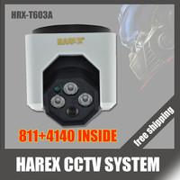 "New arrival 1/3"" Sony Effio-e 700TVL 960H 811+4140 3pcs Array IR LEDS indoor Plastic Dome CCTV Camera. Free shipping"