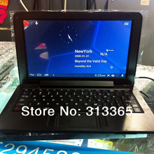 9 Inch Netbook Ultra Thin VIA 8880 Dual Core 1.5Ghz 512MB RAM 4GB ROM Android 4.2 Notebook PC WiFi Webcam Laptop Free shipping(China (Mainland))
