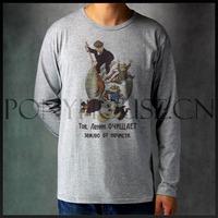 Fashion hot-selling T-shirt dxh ussr art T-shirt long-sleeve shirt male