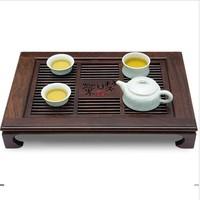 Han calamander wood LLADRO teaberries black solid wood rosewood drawer storage-type teaberries