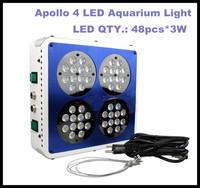 Apollo 4 48*3W 120w 130w LED Aquarium Light For Coral and Reef Tank Aquarium LED Lighting Plant