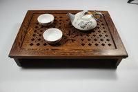 Teaberries wenge mahogany solid wood tea tray tea sea saucer tea sets Small travel tray
