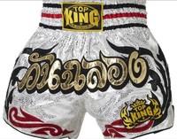 Top king muay thai shorts tktbs-059 muay thai shorts pants original supplies