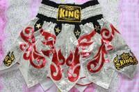 Top king muay thai shorts tktbs-078 muay thai shorts pants original supplies