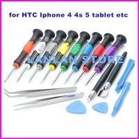 16 in 1Repair Tools Screwdrivers Set Kit For iPhone 5 4S 3GS iPad for Mobile Phone Opening Pry Tools Disassembly phone Repair