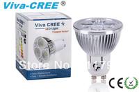 Viva-CREE/2pcs  GU10 LED 12w Super bright Equivalent to 70w Energy saving 90% ,60D
