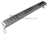 54W LED wall washer RGB controlled by DMX512,single color, 2pcs/lot / 220-240VAC, DHL Fedex  free shipping