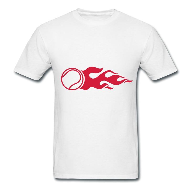 Unique Design Slim Fit Tshirt Man tennis fire f1 Print Swag Logo Tee Shirts for Mans(China (Mainland))