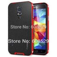 Galaxy S5 sgp phone case,SGP Spigen Neo Hybrid Back Case For Samsung Galaxy S5 I9600+2pcs/lot free shipping